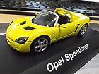 OPEL Speedster MKI 1. Baureihe gelb yellow 2000 - 2005 Schuco 1:43