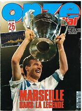 B1- Onze Mondial N°53 Marseille OM Champion !!!Champions League Ligue