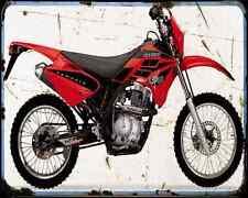 Gas Gas Pampera 125 07 A4 Metal Sign Motorbike Vintage Aged
