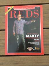 Marty Brennaman Mic Drop Poster 9-25-19 Game Giveaway SGA