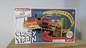 Vintage Retro 1994 - Rollin' Fun Crazy Train - DY Toy - New Open Box - Tested