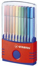 20x Stabilo Fasermaler Pen 68 Filzstifte ColorParade ca. 1 mm Strichbreite