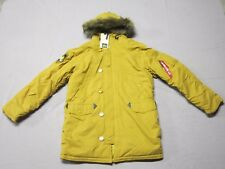 ALPHA INDUSTRIES MENS TUMBLEWEED ALTITUDE WHEAT PARKA JACKET COAT SIZE SMALL