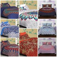Indian Queen Size Bedding Quilt Comforter Blanket Coverlet Doona Duvet Cover