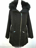 TOPSHOP sale BLACK PARKA JACKET COAT SIZE UK8/EUR36/US4 RRP £98