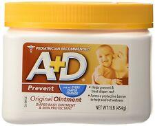 3pc 16oz A+D Diaper Rash Ointment & Skin Protectant Original Treatment