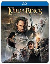 LORD OF THE RINGS : RETURN OF KING (Steelbook)  BLU RAY   - Sealed Region free