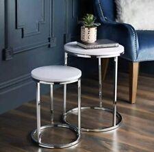 Table /à Manger contemporaine rectangulaire Blanche avec Pieds en h/être Snug Furniture