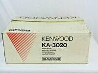 Boxed Kenwood KA-3020 Amplifier black amp good working condition