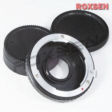 US Pentax PK K Lens to Nikon AI AF F camera mount Adapter glass D5 Df D610 D810