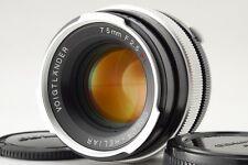 【C Normal】Voigtlander COLOR-HELIAR 75mm f/2.5 SL Lens for Olympus OM Mount R2977