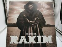 "Rakim ""The Seventh Seal"" Double Vinyl Record RA Records 2009 SMC 354 VG+ c VG+"
