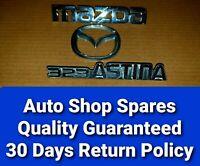 Mazda Astina 323 2000-2003 Set Of Badges Rear