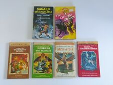 Lot Of 6x Vintage Choose Your Own Adventure Books Gamebooks Dungeons Dragons