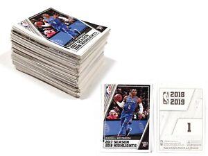 220g PANINI NBA 2018-19 Basketball 250+ Stickers
