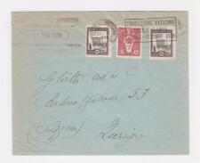 VATICAN -SUISSE 1936 COVER, 25c RATED (SEE BELOW)