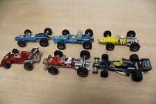 Colección 6x f1 Racer March ford Lotus ferrari Majorette Champion pátina coleccionista