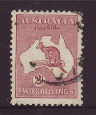 1929 Australia 2/- Roo Wmk 7 Fine Used SG110
