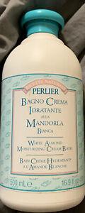 Perlier White Almond Moisturizing Bath Cream ~16.9 oz ~ LOW $