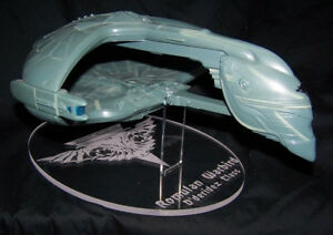 acrylic Display stand for Playmates Romulan Warbird Star Trek