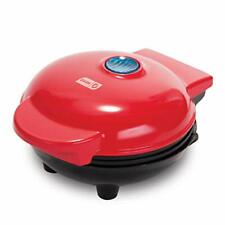 Dash Mini Maker The Mini Waffle Maker Machine for Individual Waffles Panini Red