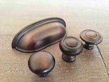 """Sonoma Cabinet Hardware Montana Cup Pull Venetian Bronze Kitchen Country NEW 3"""""""