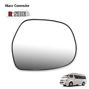Rh Wing Side Door Mirror Glass Len Fits Toyota Hiace Commuter Ventury 2008 2018