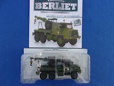BERLIET GBC 8 KT  Dépanneuse Militaire  Série Test n° 4  1/43 Neuf/Boite  RARE