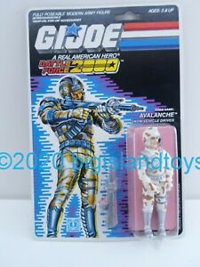 GI Joe Real American Hero 1987 Avalanche Battle Force 2000 Action Figure Sealed
