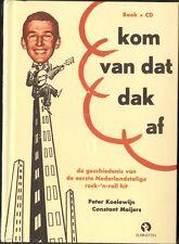 PETER KOELEWIJN Kom Van Dat Dak Af BOEK & CD NEW SEALED Constant Meijers