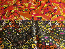 B4 DUO petits coupons tissu echantillon couleur pétillante motif