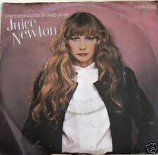 """7"""" Juice Newton: Love 's been a little bit Hard On Me"""
