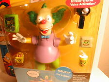 2001 The SIMPSON`s interactive figure WOS series 1  KRUSTY THE CLOWN  first year