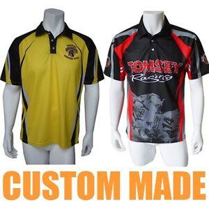 Custom Sublimated Polo Shirts Promotional Shirts T-shirts Singlets Crew Shirts