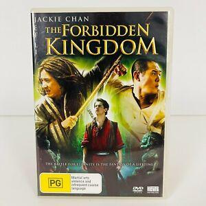 The Forbidden Kingdom (DVD, 2008) Jackie Chan Region 4 Free Postage