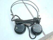 "Vintage Trimm Inc.""The Rex"" Bakelite Radio Headphones w/ Jack Tested"