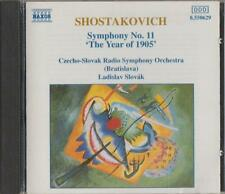 C.D.MUSIC D235  SHOSTAKOVICH : SYMPHONIES Nos.11 'THE YEAR OF 1905'  CD
