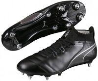 Puma One 17.1 MX Mens Football Boots Black Soft Ground SG UK Sizes 6.5 - 9.5