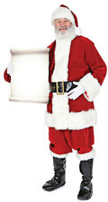 Santa with Small Sign Father Christmas Lifesize Cardboard Cutout Party Standee