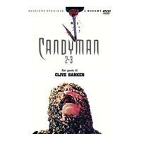 CANDYMAN 2 + CANDYMAN 3 - Edizione Speciale 2 DVD (Rimasterizzati in HD) Nuovo
