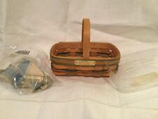 Longaberger 2001Bee Basket w/ Liner & Protector