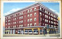 1940s Linen Postcard: Shenandoah Hotel - Martinsburg, West Virginia WV