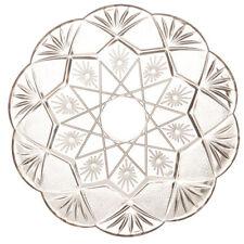Mashers Stella 21cm Round Disposable Plastic Dessert/Cake Plates - Pack of 3