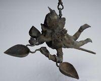 "Antique Indonesian Style Hanging Bronze Majapahit Garuda Statue - 35cm/14"""