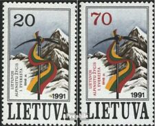 Lithuania 484-485 (complete issue) unmounted mint / never hinged 1991 everest