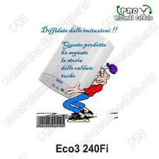 Caldaia TURBO Tradizionale a Camera Stagna BAXI Eco3 240Fi +Kit Fumi+Sped incl.