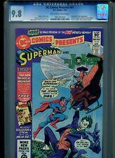 DC Comics Presents #41 CGC 9.8 (1982) Superman Joker New Wonder Woman Preview