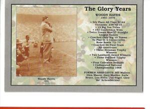 The Glory Years- Woody Hayes / Ohio State Buckeyes!