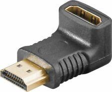 HDMI Winkel Adapter Stecker Buchse 270° vertikal rechtwinkelig High vergoldet