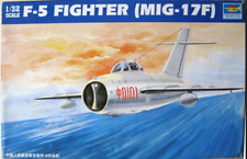 Trumpeter 02205 1/32 Assemble model,F-5 FIGHTER (MIG-17F)